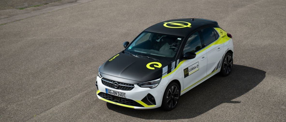 Electric Sports Car Look-Alike: Rally Design Kit for Opel Corsa-e