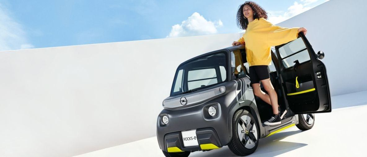 Opel Rocks-e Premiere: New E-Vehicle for New Times in The City