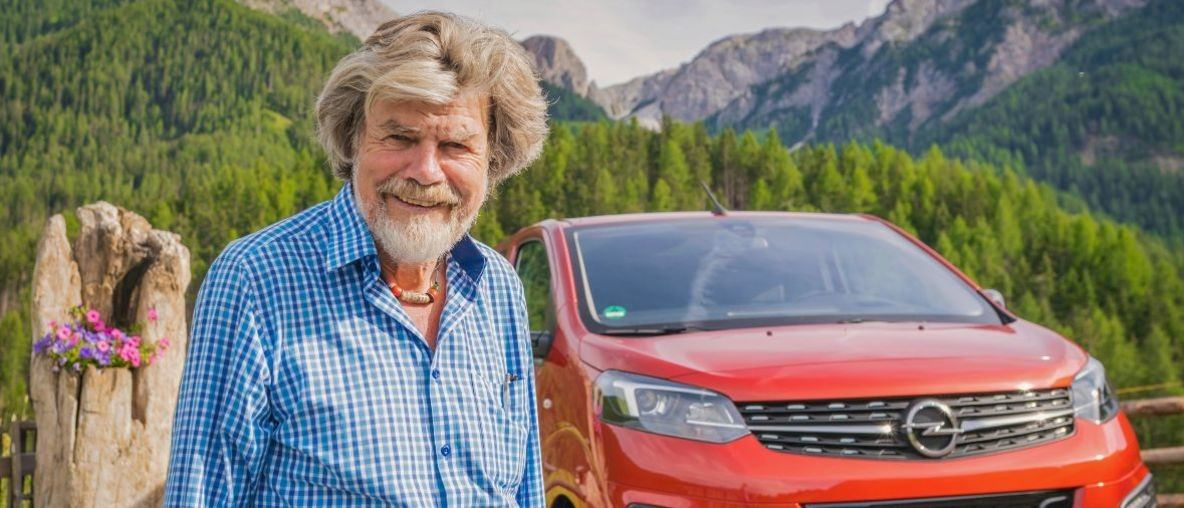 Alpine Summit: Reinhold Messner and the Electric Vans from Opel