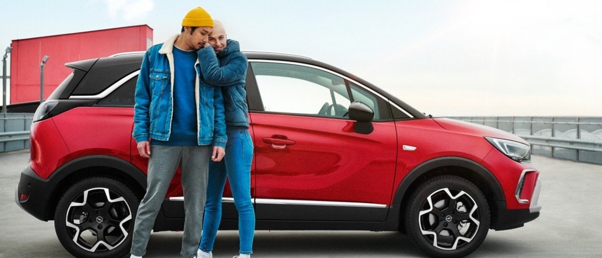 Love at First Sight: A Smile Like the Opel Crossland's