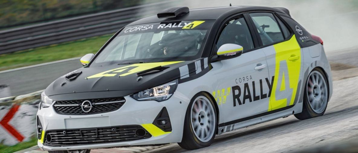 Opel Full Speed Ahead with Corsa at ERC Round in Czech Republic