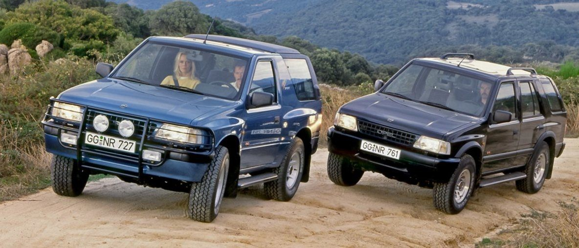 Trendsetter and Bestseller: Happy 30th Birthday, Opel Frontera