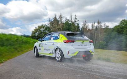 Opel Corsa-e Rally: Safety First