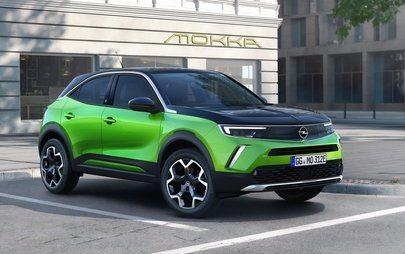 Legendary Logo: New Opel Mokka First to Feature New Flash