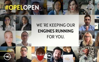 #OpelOpen – Opel Dealers and Employees Show Their Commitment to Customers