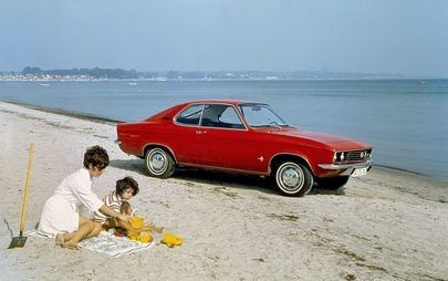 Just like 50 years ago: Opel Manta celebrates at Timmendorfer Strand