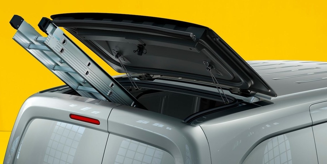 REAR ROOF FLAP