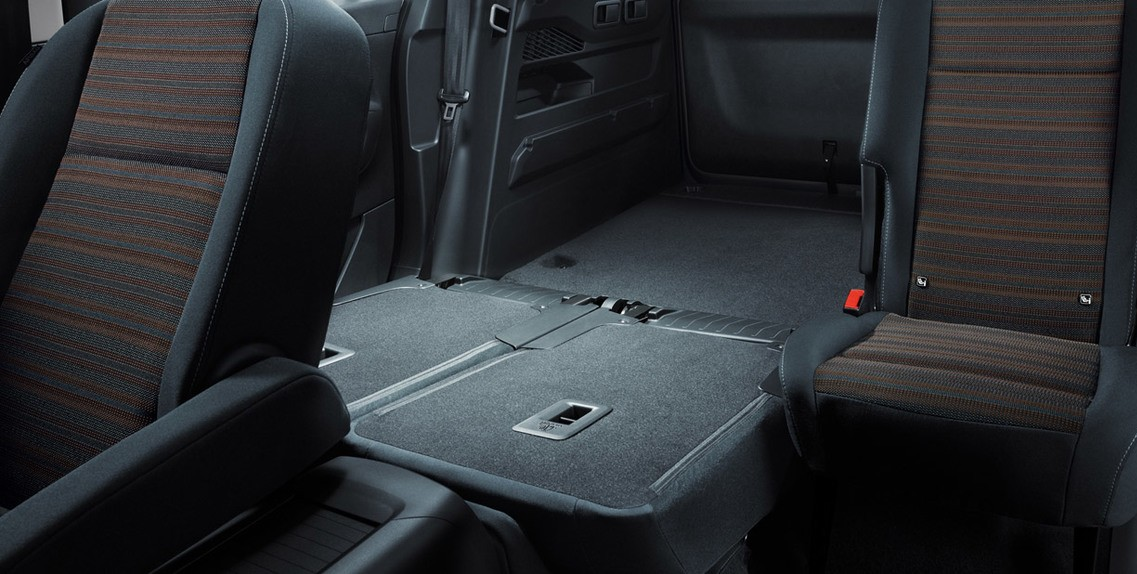 REAR SPLIT SEATS