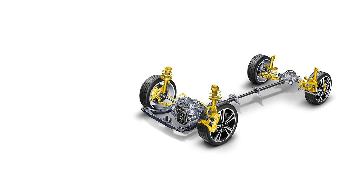 ALL-WHEEL DRIVE WITH TORQUE VECTORING